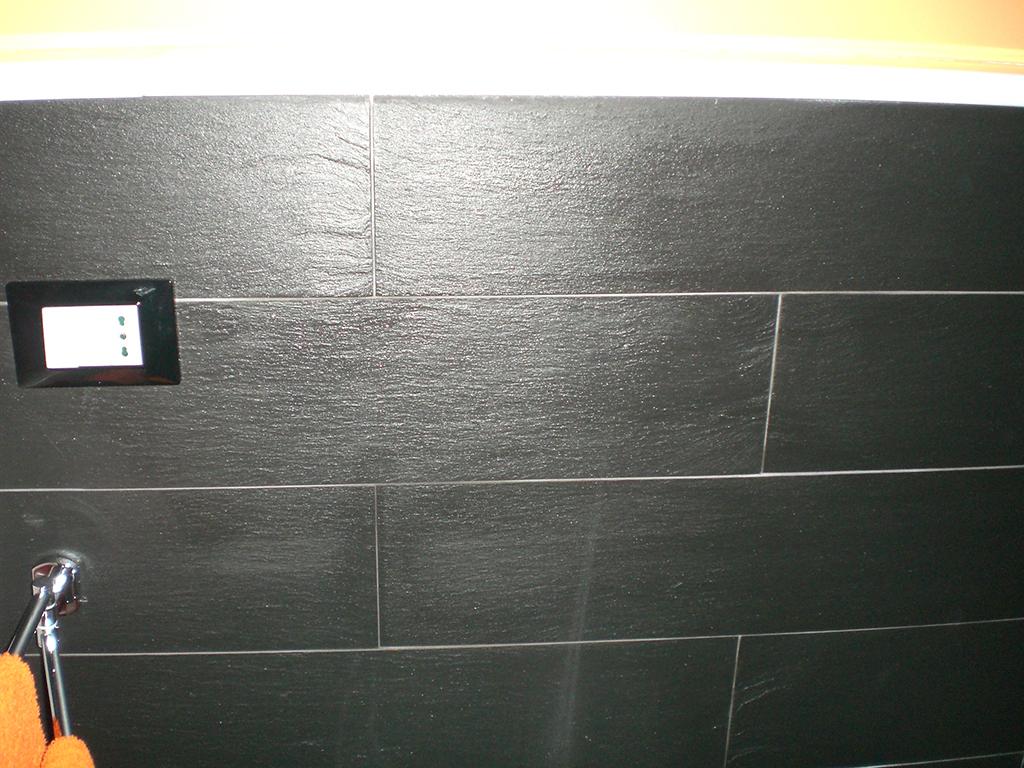 Rivestimenti Bagno In Ardesia : Rivestimento bagno in ardesia nera italiana u marmi sgambaro