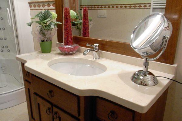 Piano Bagno In Ardesia : Rivestimento bagno in ardesia nera italiana u marmi sgambaro
